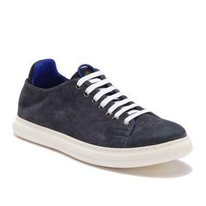 Donald Pliner Men's Pierce Suede Sneaker Gray Sz 8